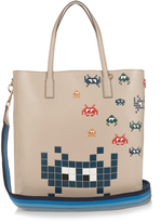 Anya Hindmarch Space Invaders Ebury leather tote