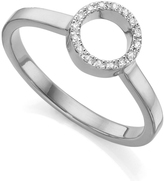 Monica Vinader Mini Naida Diamond Ring