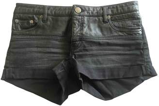 Maje Black Denim - Jeans Shorts for Women