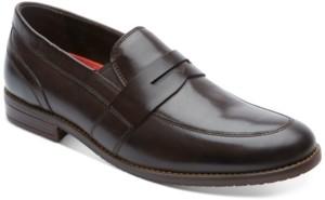Rockport Men's SP3 Double Gore Penny Loafers Men's Shoes