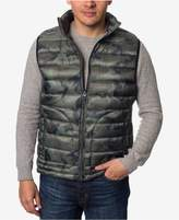 Buffalo David Bitton Men's Big and Tall Quilted Camo Vest