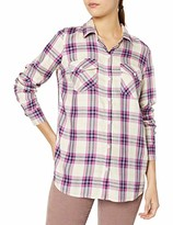 Jessica Simpson Women's Petunia High Low Button Up Shirt