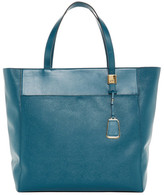 Tumi Nora Leather Trimmed Tote