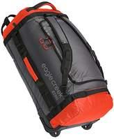 Eagle Creek Cargo Hauler Rolling Duffel ultraleichter Backpacker Reisetasche mit Rucksacktragegurten und Rollen Travel Duffle, 74 cm, 90 liters, Red (Flame/asphalt)