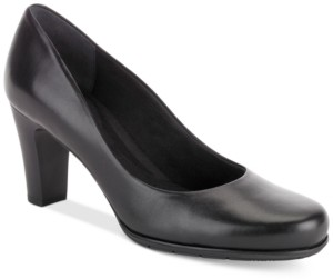 Rockport Women's Total Motion Round-Toe Pumps Women's Shoes