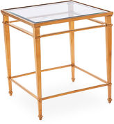 Blink Home Audrey 21.5 Steel Side Table, Gold