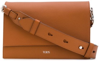 Tod's logo cross-body bag