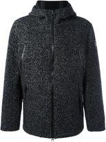 Rossignol bonded hooded jacket - men - Wool/Polyester/Acrylic/Alpaca - 50