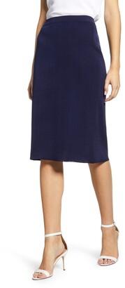 Ming Wang Pencil Skirt
