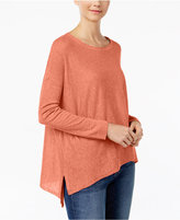 Eileen Fisher Asymmetrical Box Top, Regular & Petite