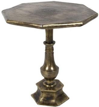 World Menagerie Humboldt Antique End Table