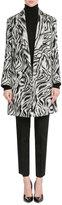 Missoni Zebra Print Wool Coat