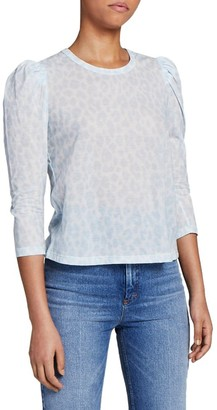 A.L.C. Karlie Puff-Sleeve T-Shirt