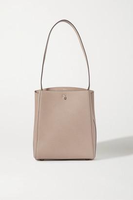 Valextra Brera Textured-leather Shoulder Bag