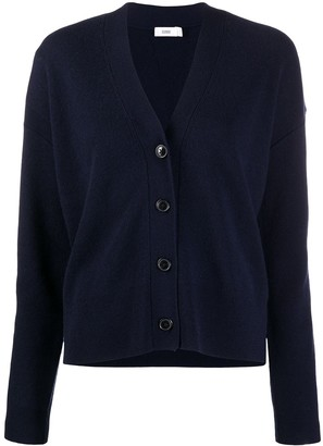 Closed Button-Up Knitted Cardigan