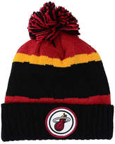 Mitchell & Ness Miami Heat Quilted Hi Five Knit Hat