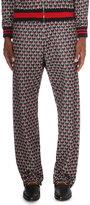Gucci Geometric Jersey Jogging Bottoms