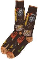 Robert Graham Paxton Crew Socks