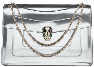 Bvlgari Metallic Serpenti Forever Shoulder Bag