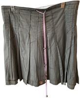 BOSS Khaki Cotton Skirt for Women