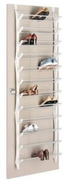 Whitmor Over The Door 36-Pair Shoe Rack