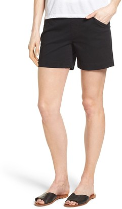 Jag Jeans Ainsley Pull-On Stretch Twill Shorts