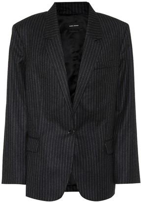 Isabel Marant Melinda pinstripe wool blazer