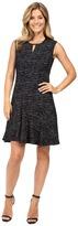Nic+Zoe Tweed Jacquard Dress