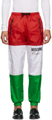 Moschino Multicolor Jogging Lounge Pants