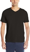 Perry Ellis Men's Thermal Short Sleeve V-Neck Top