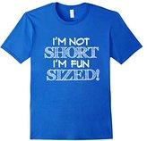 Men's I'm Not Short I'm Fun Sized Funny Tee Vision T-Shirt XL