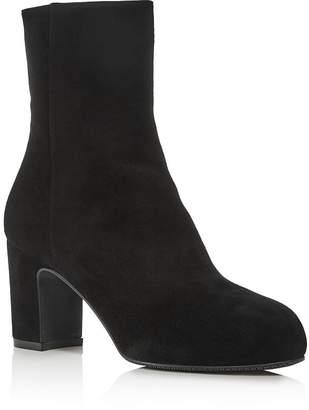 Stuart Weitzman Women's Gianella Block Heel Booties