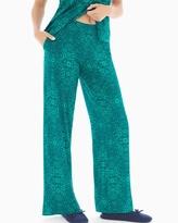 Soma Intimates Pajama Pants Illumination Green Envy TL