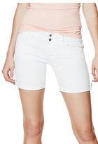 GUESS Women's Leesha Bermuda Shorts in True White