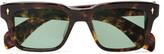 Jacques Marie Mage - Molino Square-frame Tortoiseshell Acetate Sunglasses