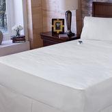 JCPenney Safe & WarmTM Damask Stripe Electric Warming Mattress Pad