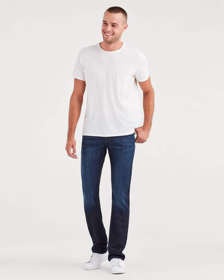 7 For All Mankind 32'' Inseam Slimmy in Los Angeles Dark