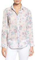 KUT from the Kloth Esperanza Button Back Floral Blouse