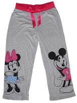 Disney Classic Mouse Pajama Pants - Grey / Pink (L)