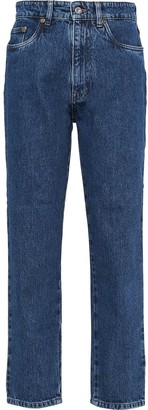 Miu Miu straight-fit Brigitte jeans