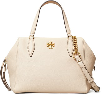 Tory Burch Kira Pebbled Leather Satchel