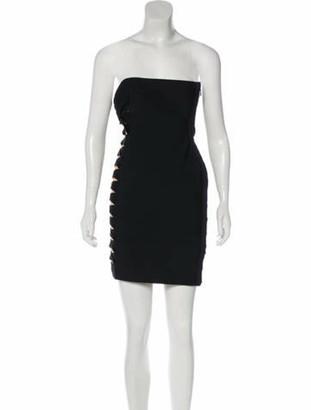 Herve Leger Monique Bandage Dress Black