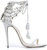 Marchesa Marissa sandals - women - Leather/Silk Satin - 36.5