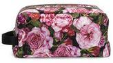 Dolce & Gabbana Necessaire Floral-Print Nylon Double-Zip Cosmetic Case