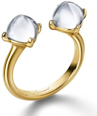 Baccarat Mini Medicis Toi & Moi Ring Size 51