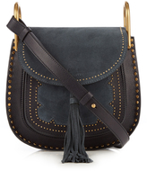 Chloé Hudson small suede and leather shoulder bag