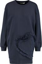 Love Moschino Ruffled cotton-jersey sweatshirt