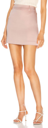 GRLFRND Jain Mini Skirt in Nude | FWRD