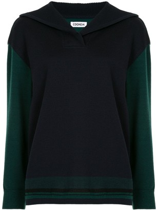 Coohem Colourblock Longsleeve Jumper