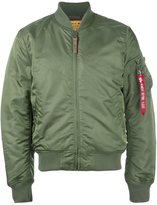 Alpha Industries classic flight jacket